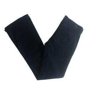 AG The Angel Bootcut Blue Corduroy Pants Sz 25